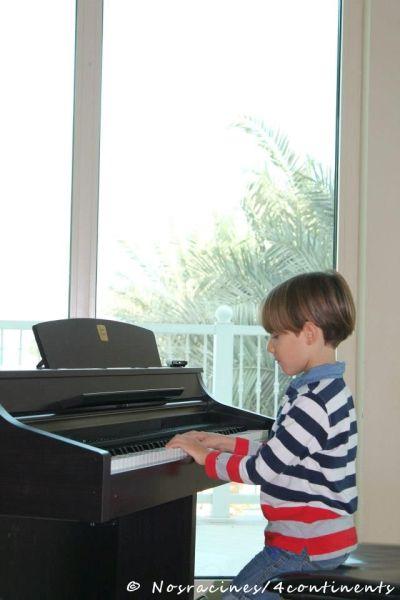 Concert de piano, Mozart Art Centre, Palm Jumeirah