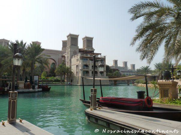 Station de abra, Madinat Jumeirah, Dubaï