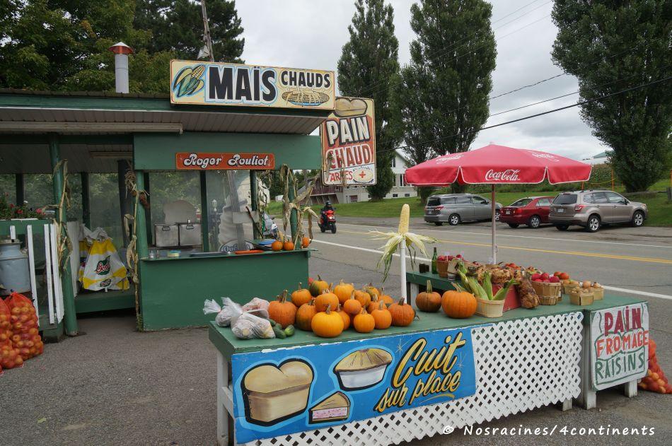 Marché Pouliot & Filles, île d'Orléans