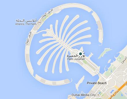 Shoreline Résidences, Palm Jumeirah, Dubaï