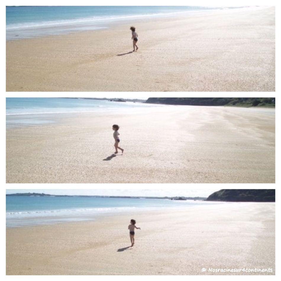 Notre fils aîné en vacances en Bretagne - 2009