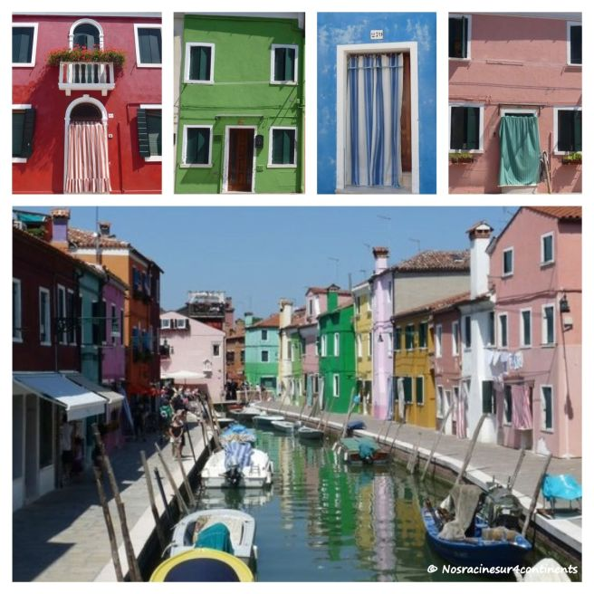 Les maisons colorées de l'île de Burano - 2011