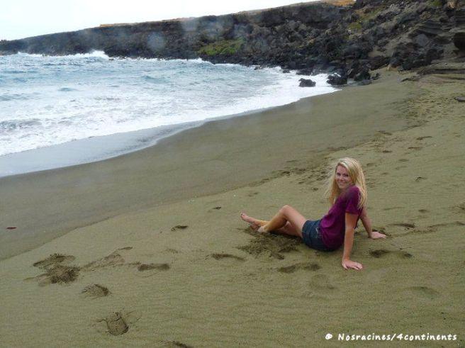 Papakolea Green Sand Beach, Big Island, Hawaii - 2010