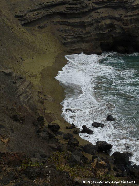 Papakolea Green Sand Beach, Big Island, Hawaii - 2011