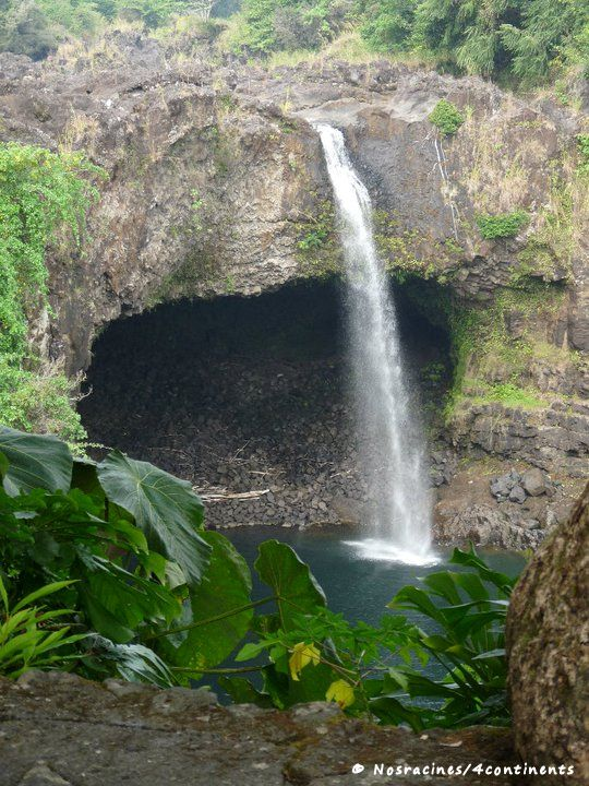 Rainbow Falls, Big Island, Hawaii - 2010