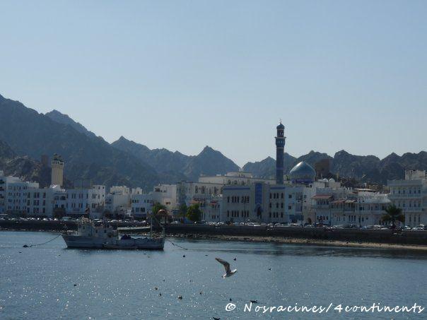 En route vers le souk de Mutrah, Oman