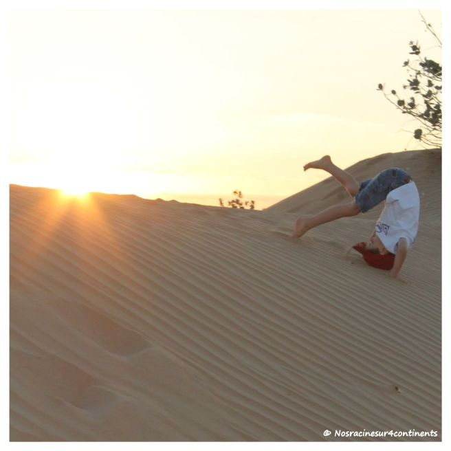 Pirouette dans le désert de Dubaï - 2012