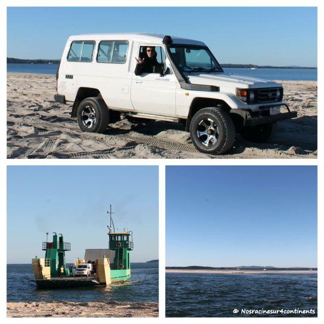 Inskip Point, en route vers Fraser Island - 2012