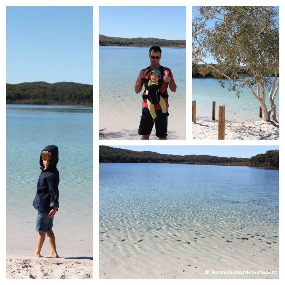Lac McKenzy, Fraser Island - 2012