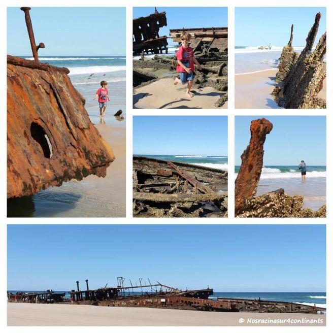 L'épave de Maheno, Fraser Island - 2012