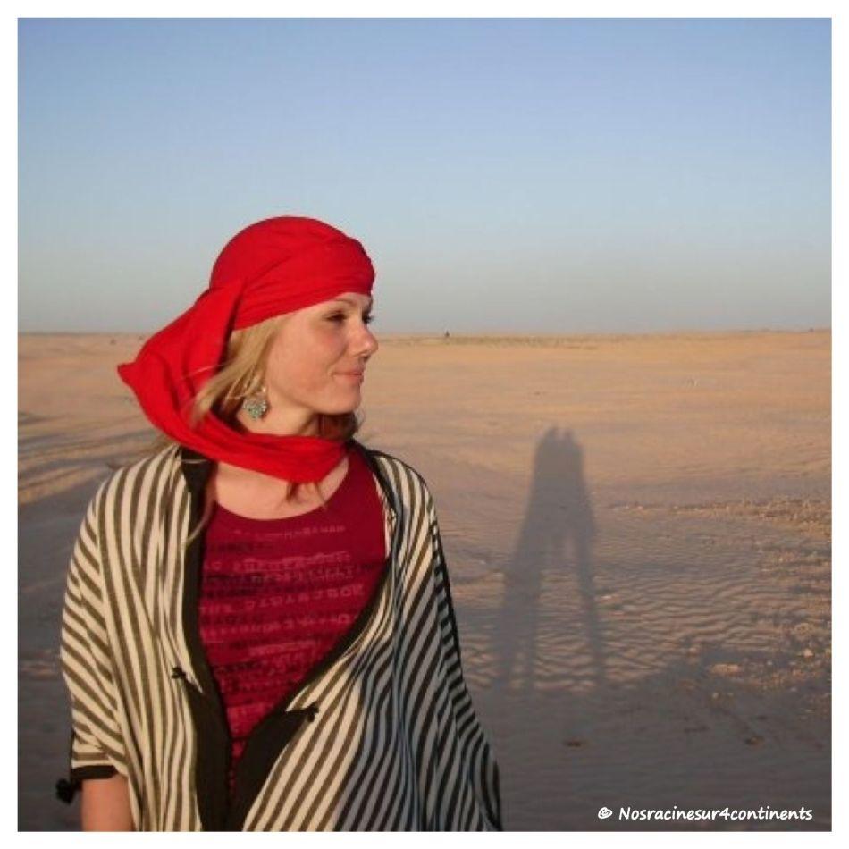 Dans le désert du Sahara, Tunisie - 2009
