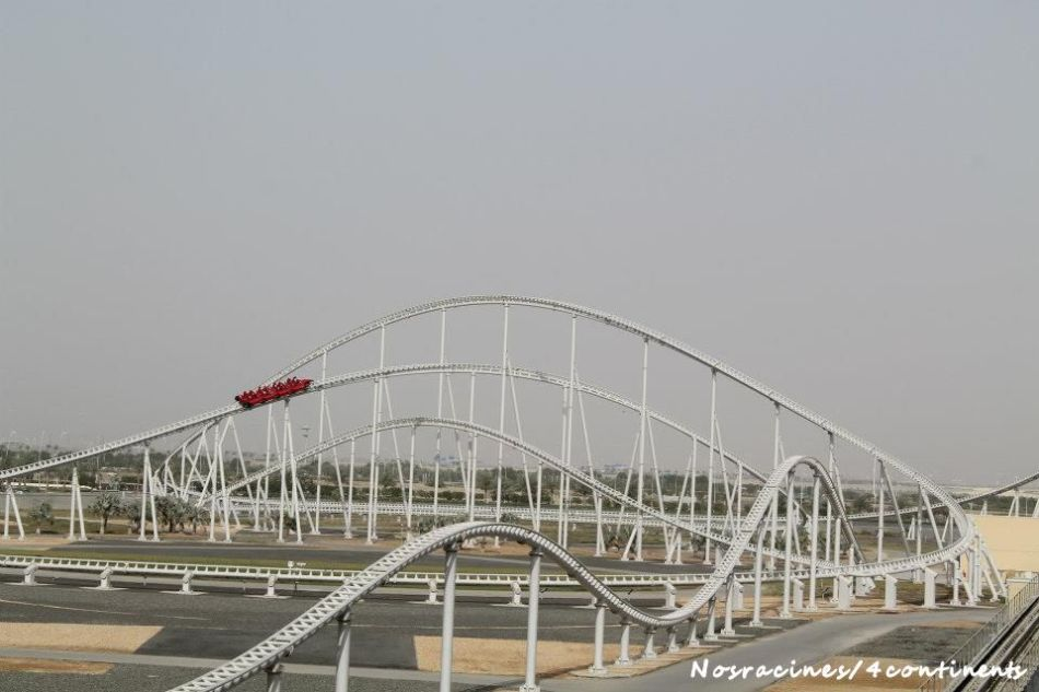 Formula Rossa, Ferrari World Abu Dhabi - 2013