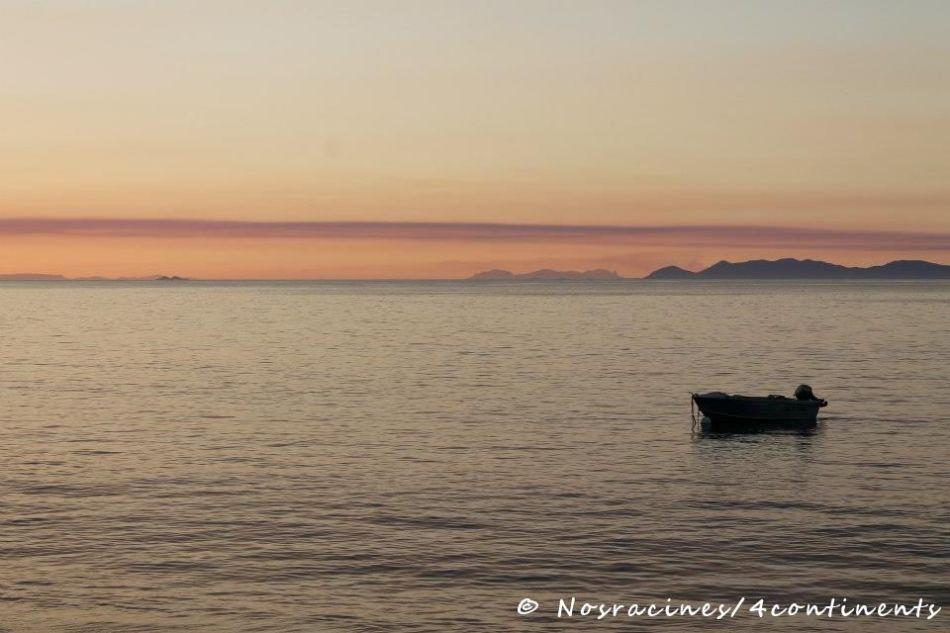 Coucher de soleil à Horseshore Bay