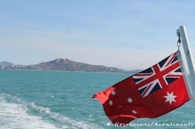 Dans le ferry menant à Magnetic Island