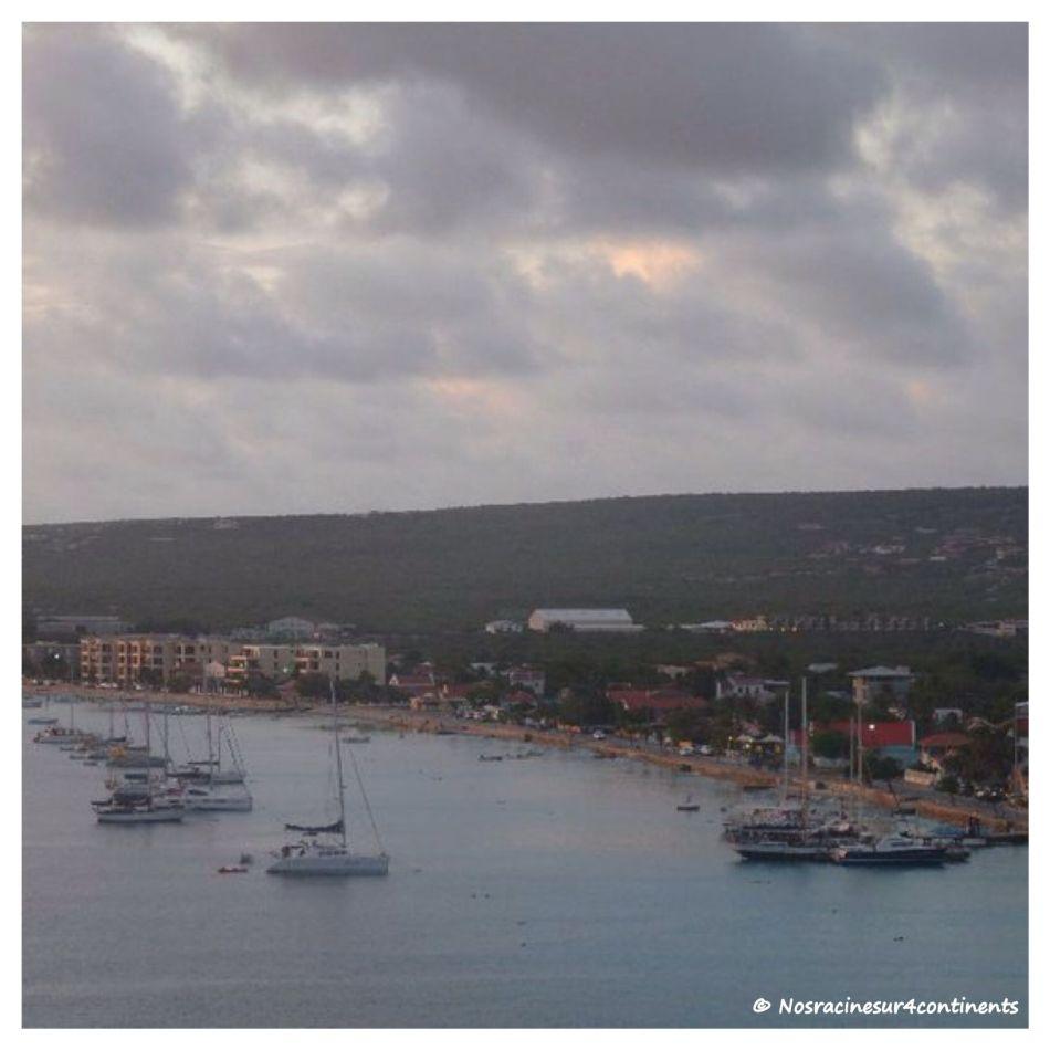 Fin de journée à Bonaire - 2011