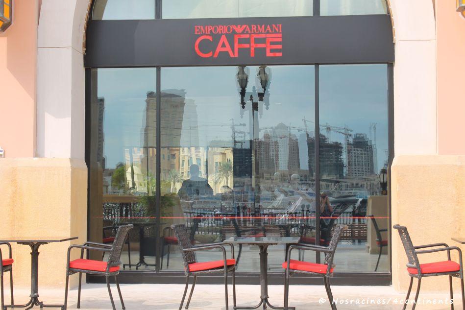 Armani Caffe, La Croisette, Porto Arabia, Qatar - 2012