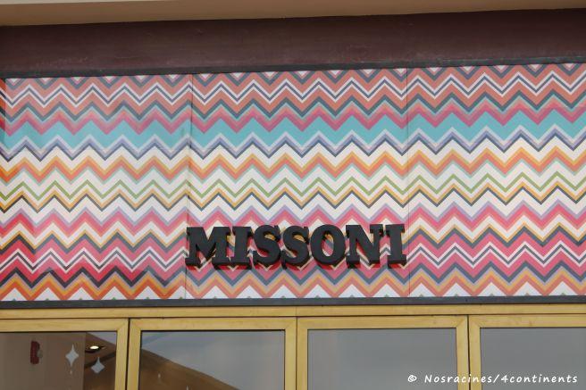 Boutique Missoni, La Croisette, The Pearl, Qatar - 2012