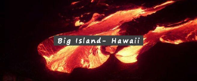Big Island - lave