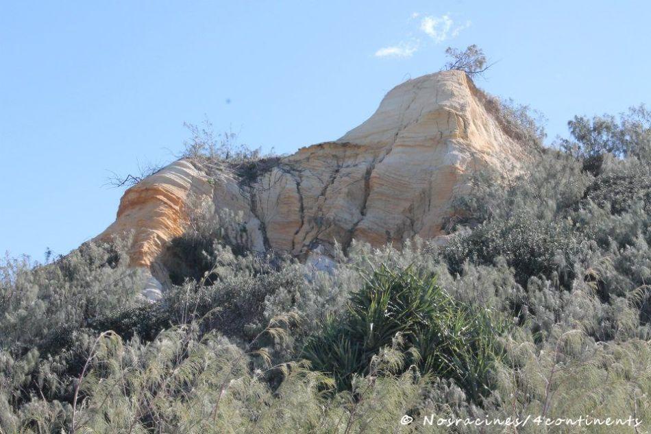 Les falaises colorées des Pinnacles