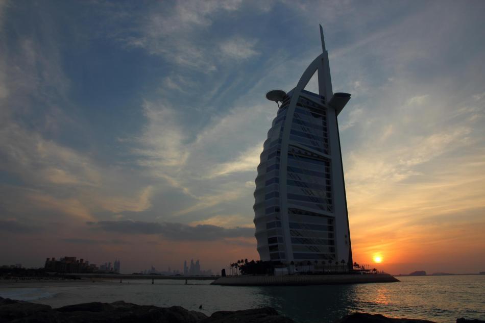 Burj al Arab, Dubaï - crédit photo : Isabelle Cyr