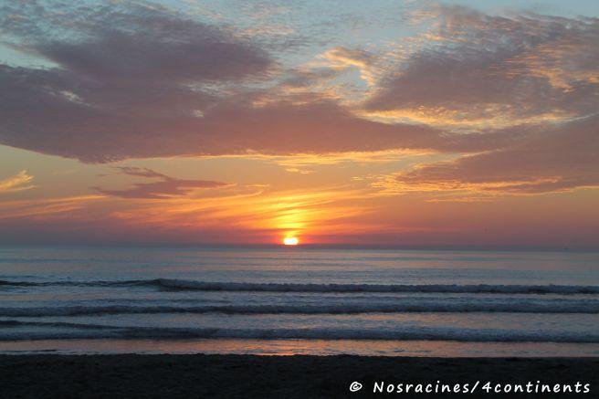 Coucher du soleil sur Coronado Island