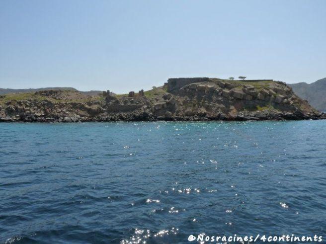 L'île du Télégraphe, Musandam