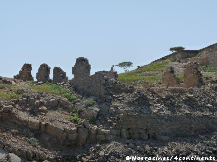 Les ruines de l'île du Télégraphe