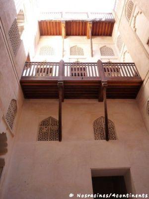 La cour intérieure du château de Jabrin