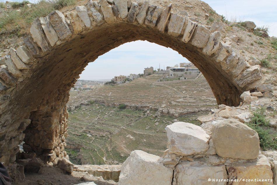 Les ruines du château de Kerak