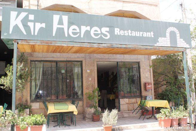 Kir Heres Restaurant, à proximité du château de Kerak