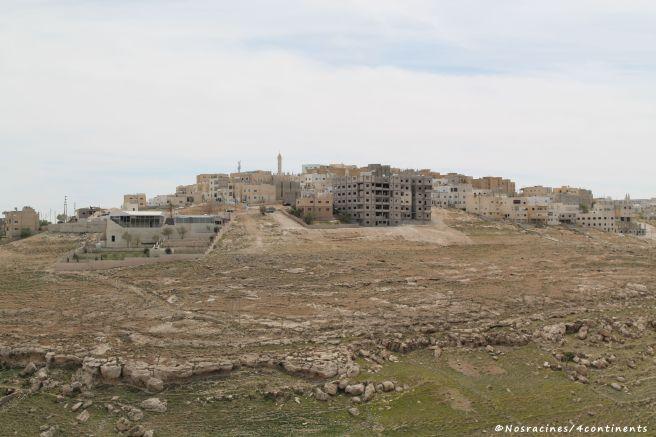 La vue sur les environs, château de Kerak