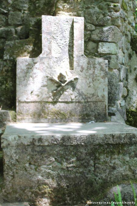 La tombe construite par le roi Ferdinand II