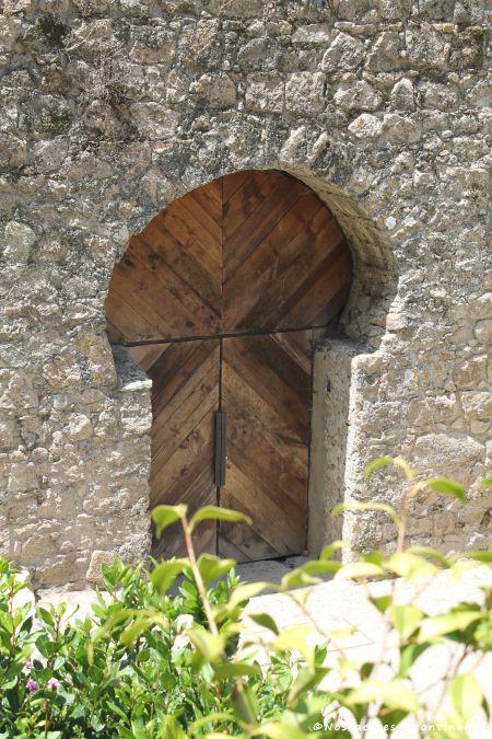 La Porte de la Trahison, château des Maures