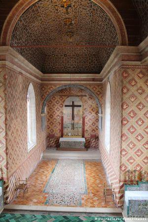 Les murs de la chapelle, Palais national de Sintra