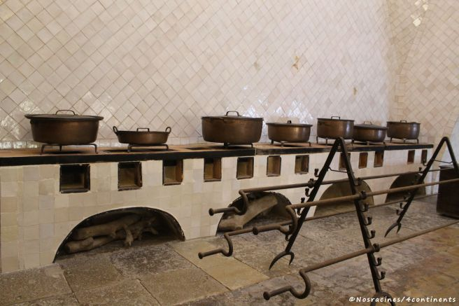 Un aperçu des installations des cuisines, Palais national de Sintra