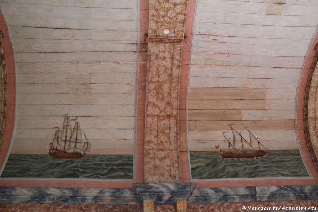 Le plafond de la Salle des galères, Palais national de Sintra