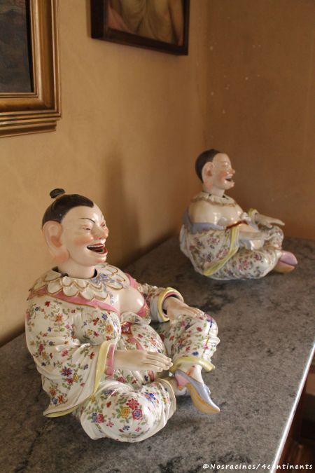 Objets décoratifs de l'Orient dans la salle arabe, Palais de Pena
