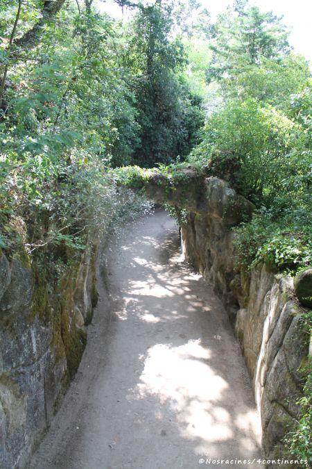 Des sentiers où les symboles se multiplient, Quinta da Regaleira