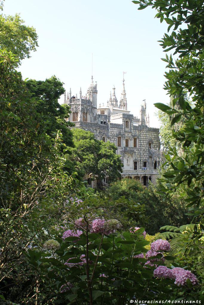 Le palais vu du jardin, Quinta da Regaleira
