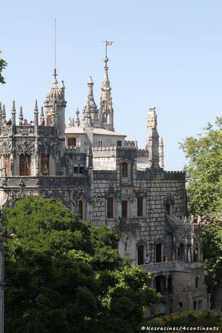 La façade extérieure de la Quinta da Regaleira
