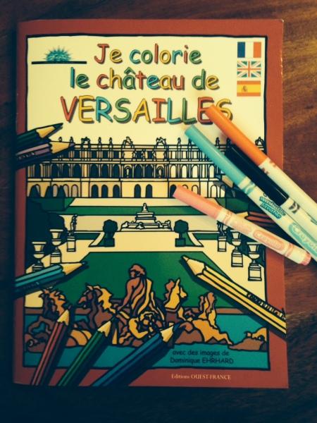 Versailles-coloriage