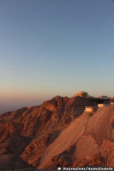 L'Hôtel Mercure, au sommet de Jebel Hafeet