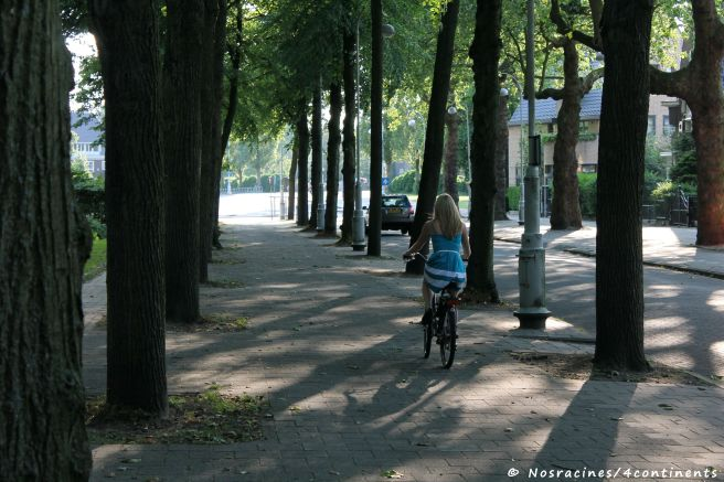 De sortie... Mais toujours à vélo!