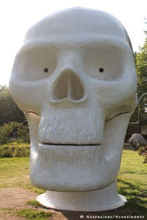 ARTZUID 2013. Skull Wellness, de Joep van Lieshout