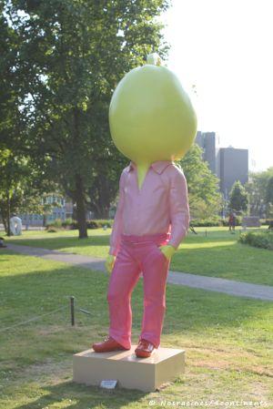 ARTZUID 2013. Big Pumpkin, Erwin Wurm
