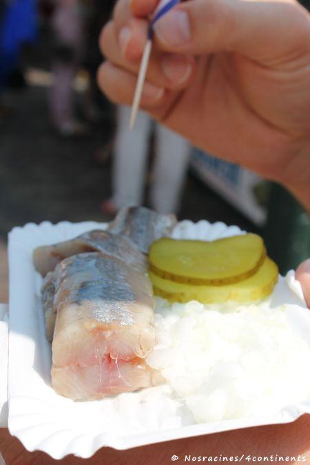 Le hareng cru, une spécialité néerlandaise incontournable