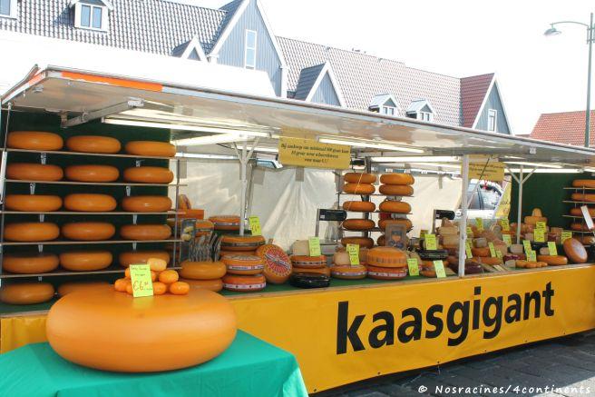 Les fromages, une autre spécialité des Pays-Bas