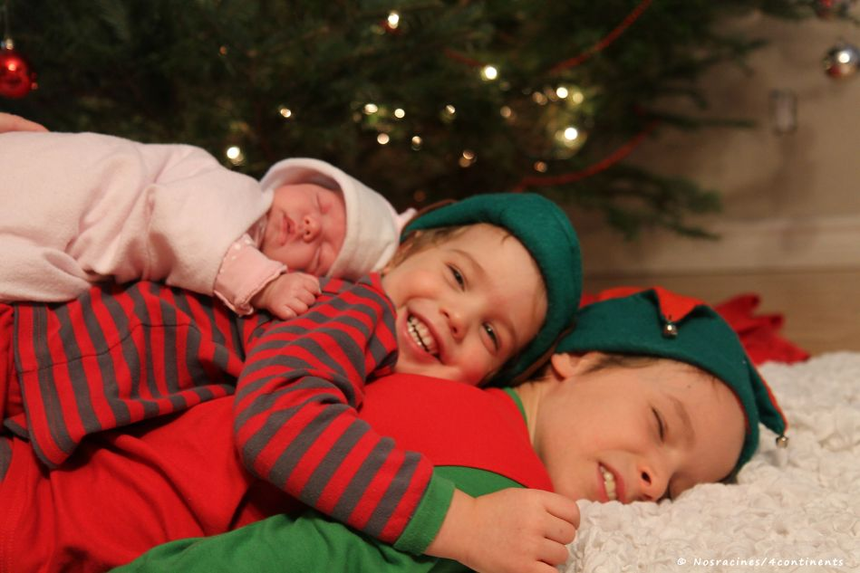 Notre premier Noël en famille