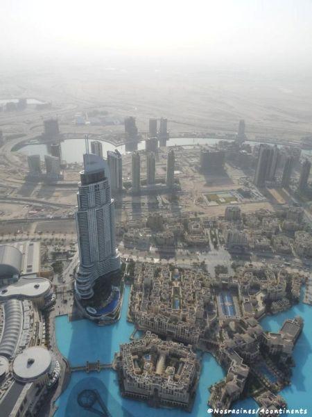 Au sommet du Burj Khalifa