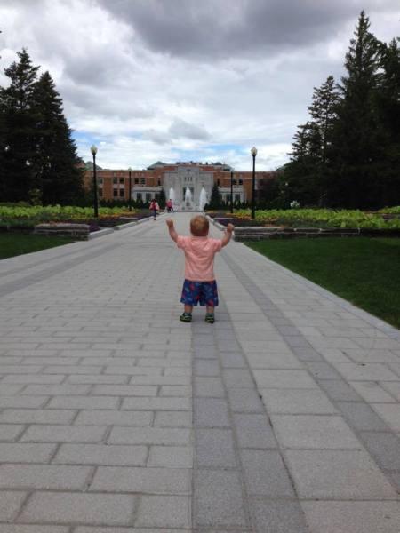 Eli, à la conquête du Jardin botanique de Montréal